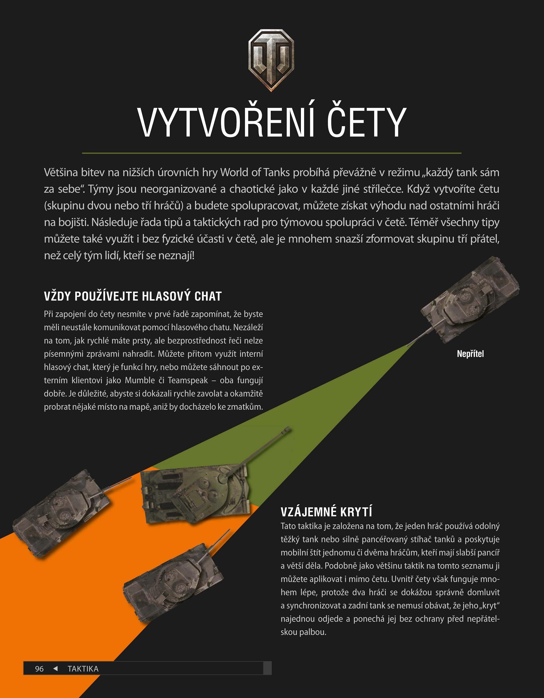 world of tanks příručka