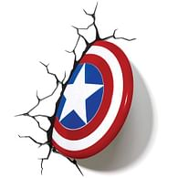 3D Lampa Marvel - Captain America Shield