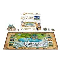 Puzzle Harry Potter - Svět kouzelníků 4D, 892 dílků