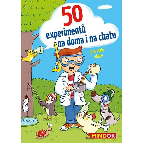50 experimentů na doma i na chatu
