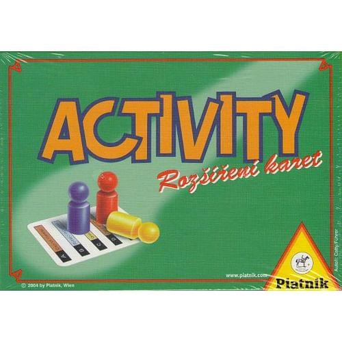 Activity - rozšíření karet