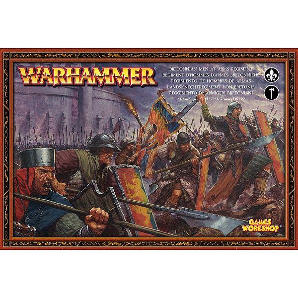 Warhammer Fantasy Battle: Bretonnian Men At Arms Regiment