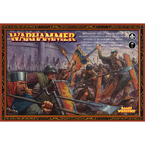 Warhammer Fantasy Battle: Bretonnian Men At Arms Regiment