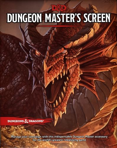Dungeons and Dragons: Deluxe Dungeon Masters Screen