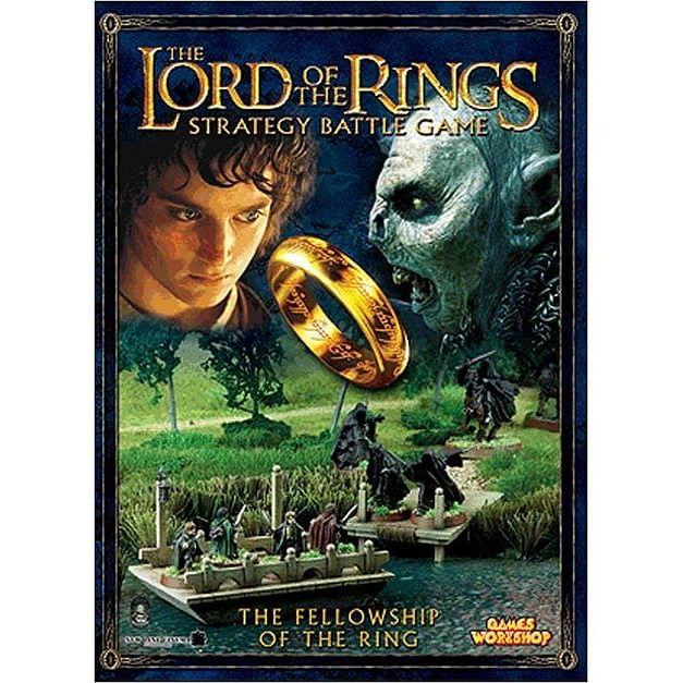 LoTR Strategy Battle Game: Fellowship of The Ring Journeybook