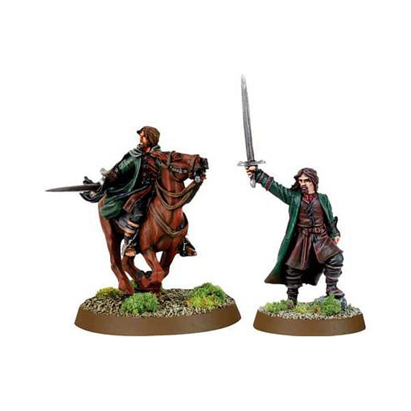 LoTR Strategy Battle Game: Aragorn the King of Gondor