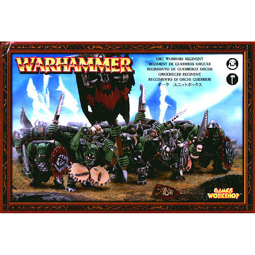Warhammer Fantasy Battle: Orc Warriors Regiment