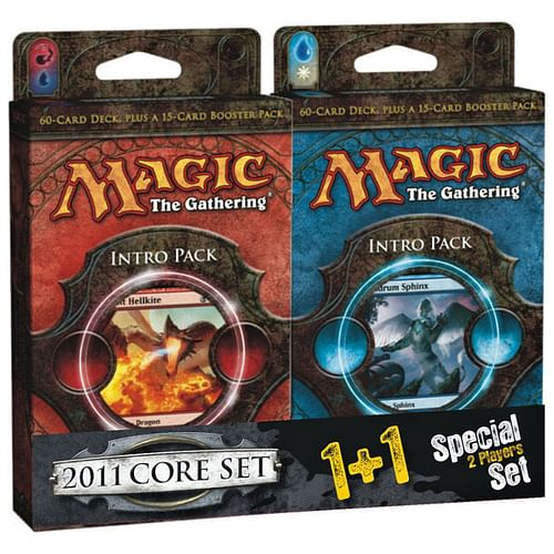 Magic: The Gathering - 2011 Core Set 1+1 Starter Pack