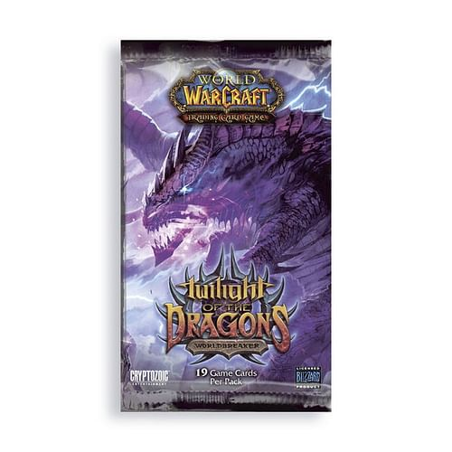 World of Warcraft TCG: Twilight of the Dragon Booster