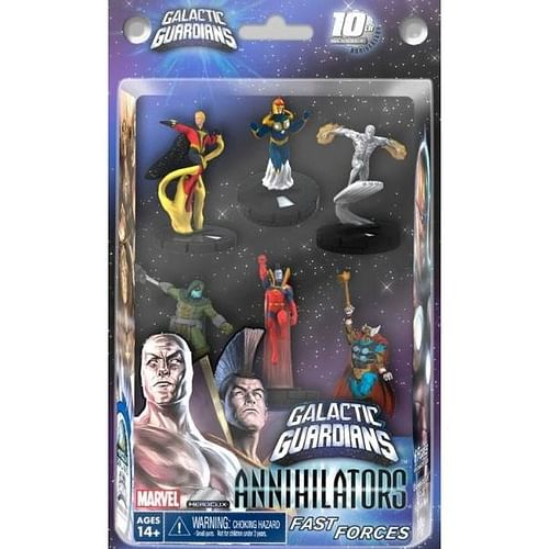 Marvel HeroClix: Galactic Guardians Annihilators Fast Forces