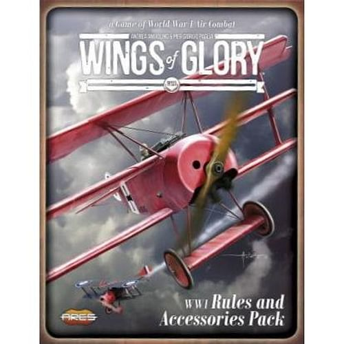 Wings of Glory WW1: Rules and Accessories Pack