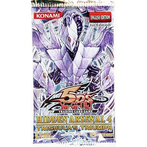 Yu-Gi-Oh! Hidden Arsenal 4 Booster - Trishula's Triumph