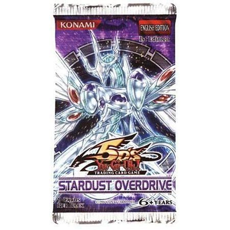 Yu-Gi-Oh! Stardust Overdrive Booster
