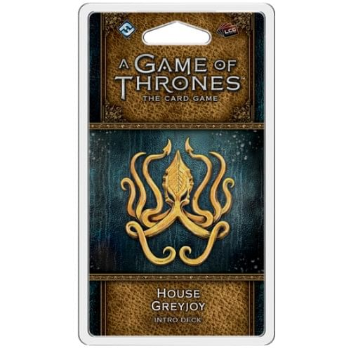 A Game of Thrones LCG second edition: House Greyjoy Intro Deck