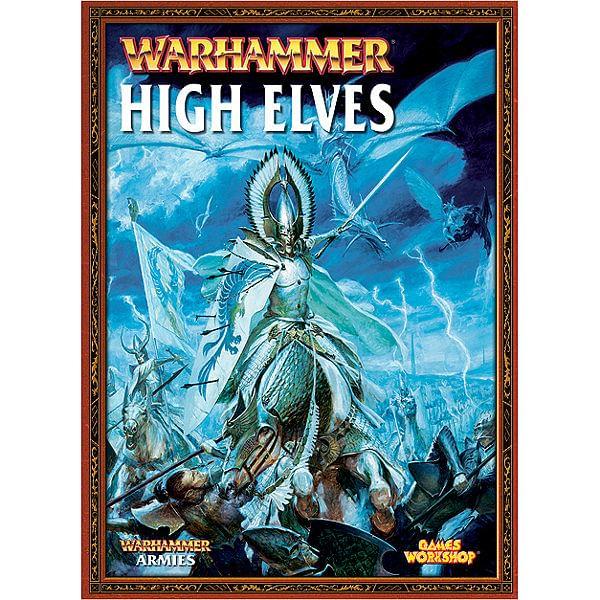 Warhammer Fantasy Battle: Army Book High Elves old