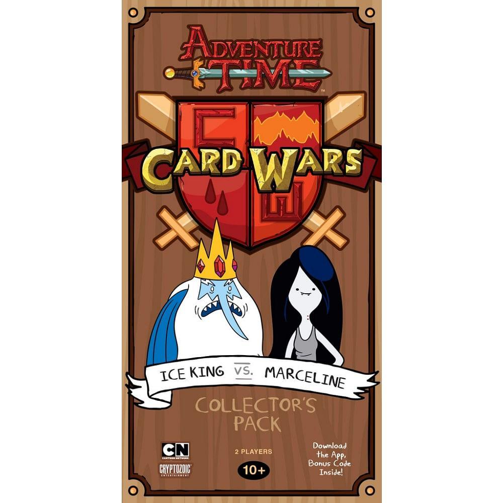 Adventure Time: Card Wars - Ice King vs. Marceline
