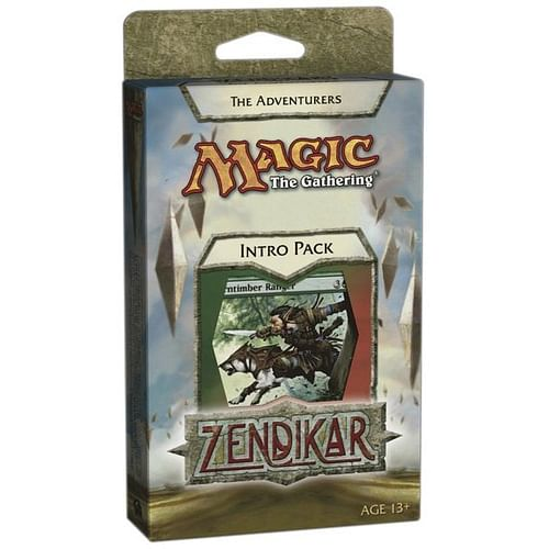 Magic: The Gathering - Zendikar Intro Pack: The Adventurers