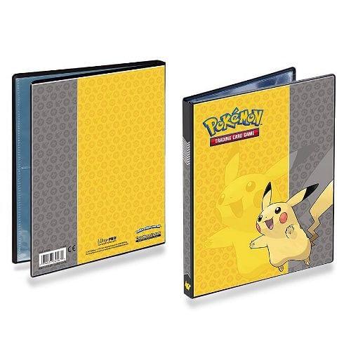 Album Pokémon: 4-Pocket Portfolio - Pikachu (Ultra Pro)