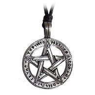 Amulet Runový pentagram