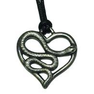 Amulet srdce s hadem