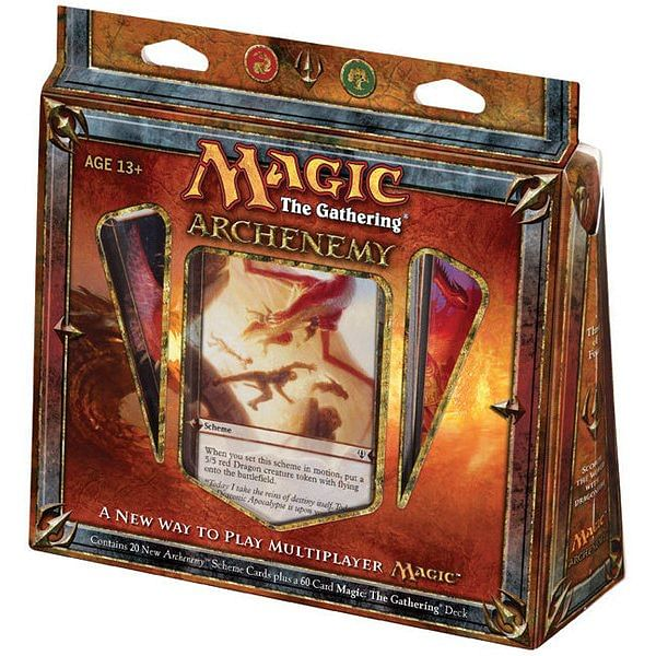 Magic: The Gathering - Archenemy: Scorch World With Dragonfire