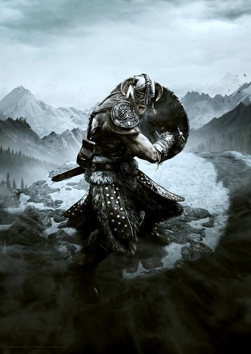 FaNaTtik Art Print Elder Scrolls - Dovahkiin