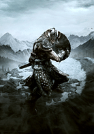Art Print Elder Scrolls - Dovahkiin