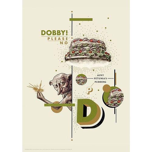 FaNaTtik Art Print Harry Potter - Dobby