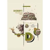 Art Print Harry Potter - Dobby