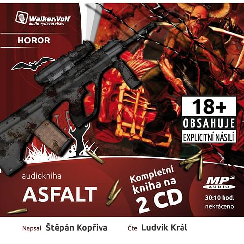 Asfalt - audiokniha (2 CD)
