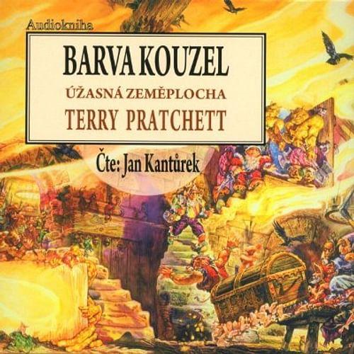 Barva kouzel - audiokniha (8 CD)