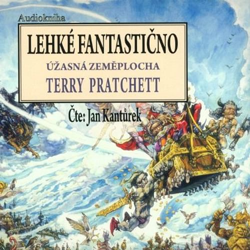 Lehké fantastično - audiokniha (8 CD)