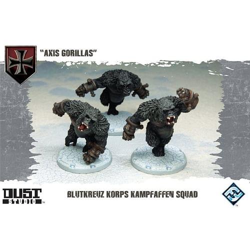 Dust Tactics: Axis Gorillas - Blutkreuz Korps Kampfaffen Squad