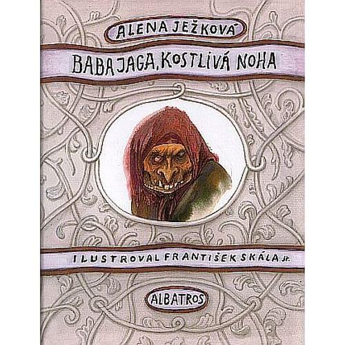 Baba Jaga, kostlivá noha