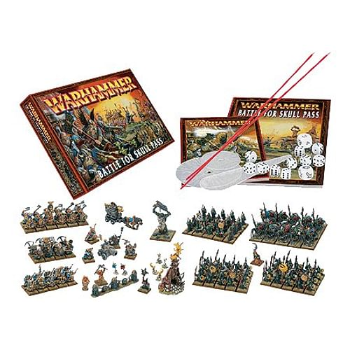 Warhammer Fantasy Battle: Battle For Skull Pass (Hobby set)