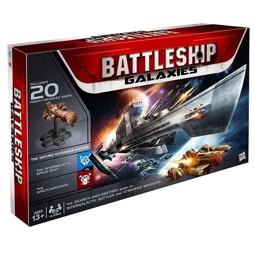 Battleship Galaxies: The Saturn Offensive Game Set