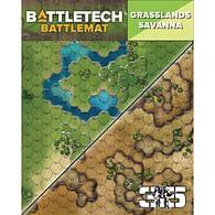 BattleTech Battle Mat: Grasslands Savanna