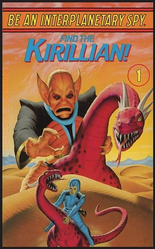 Be An Interplanetary Spy: Find the Kirillian!