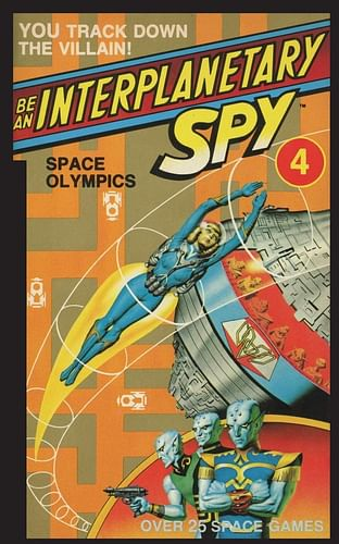 Be An Interplanetary Spy: Space Olympics