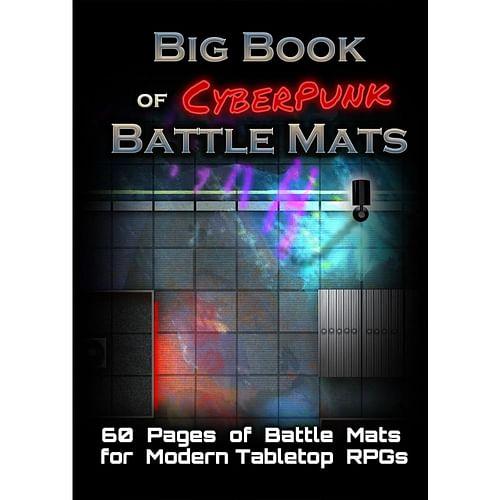 Big Book Of CyberPunk Battle Mats
