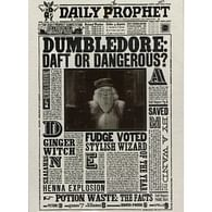 Blahopřání Harry Potter 3D - Brumbál: Zmatený, nebo nebezpečný?