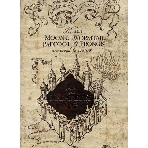 The Art Printorium Ltd Blahopřání Harry Potter - Pobertův plánek