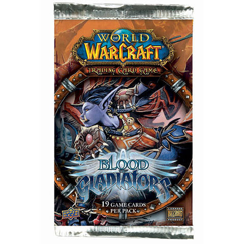 World of Warcraft TCG: Blood of Gladiators Booster