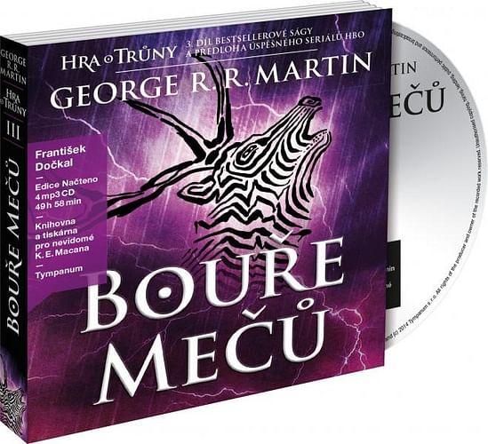 Bouře mečů - audiokniha (4 CD)