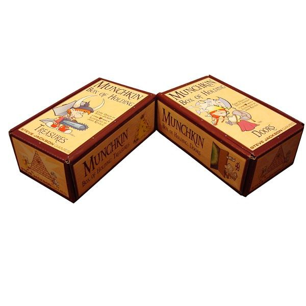 Munchkin - krabičky na karty