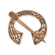 Bronzová spona - keltská fibula