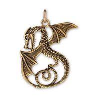 Bronzový amulet drak II