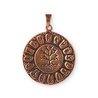 Bronzový přívěsek Runový strom života