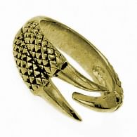 Bronzový prsten Dračí dráp