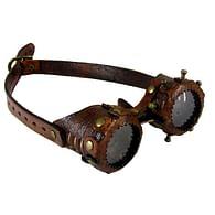 Brýle Steampunk - kožené